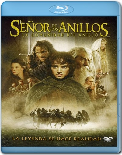 The Lord Of The Rings: The Fellowship Of The Ring [2001] [BD25] [Latino]