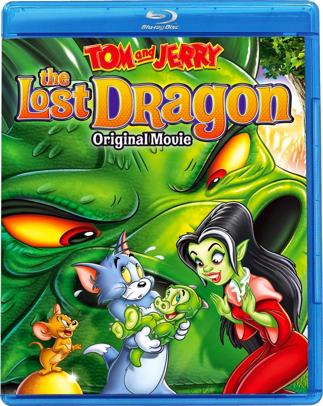 Tom & Jerry: The Lost Dragon [BD25] [2014] [Latino]