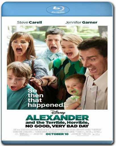 Alexander And The Terrible, Horrible, No Good, Very Bad Day [2014] [BD25] [Latino]