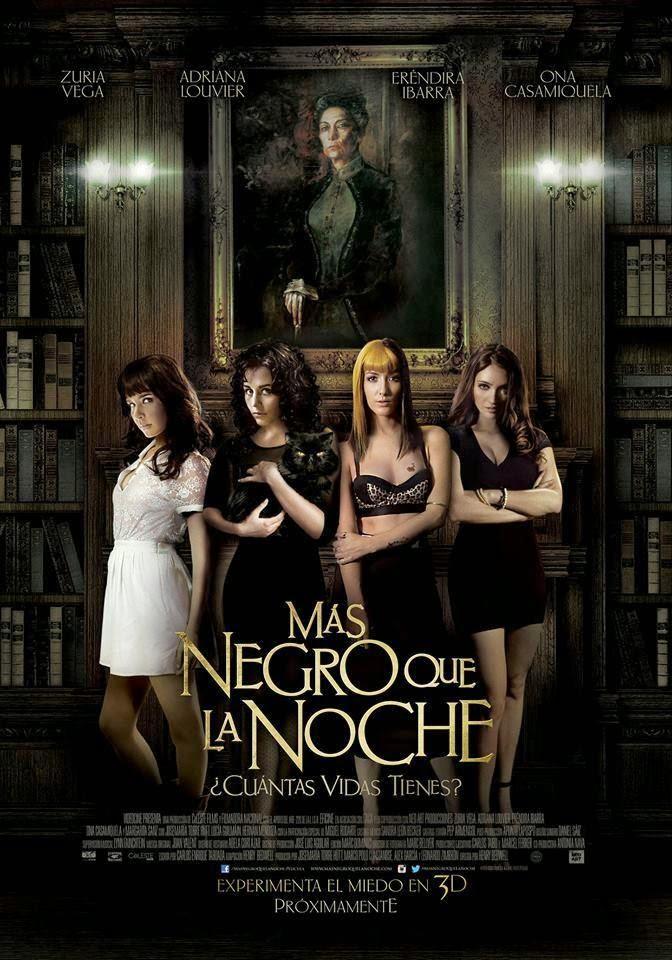 Más negro que la noche [2014] [DVDR] [NTSC] [Latino]